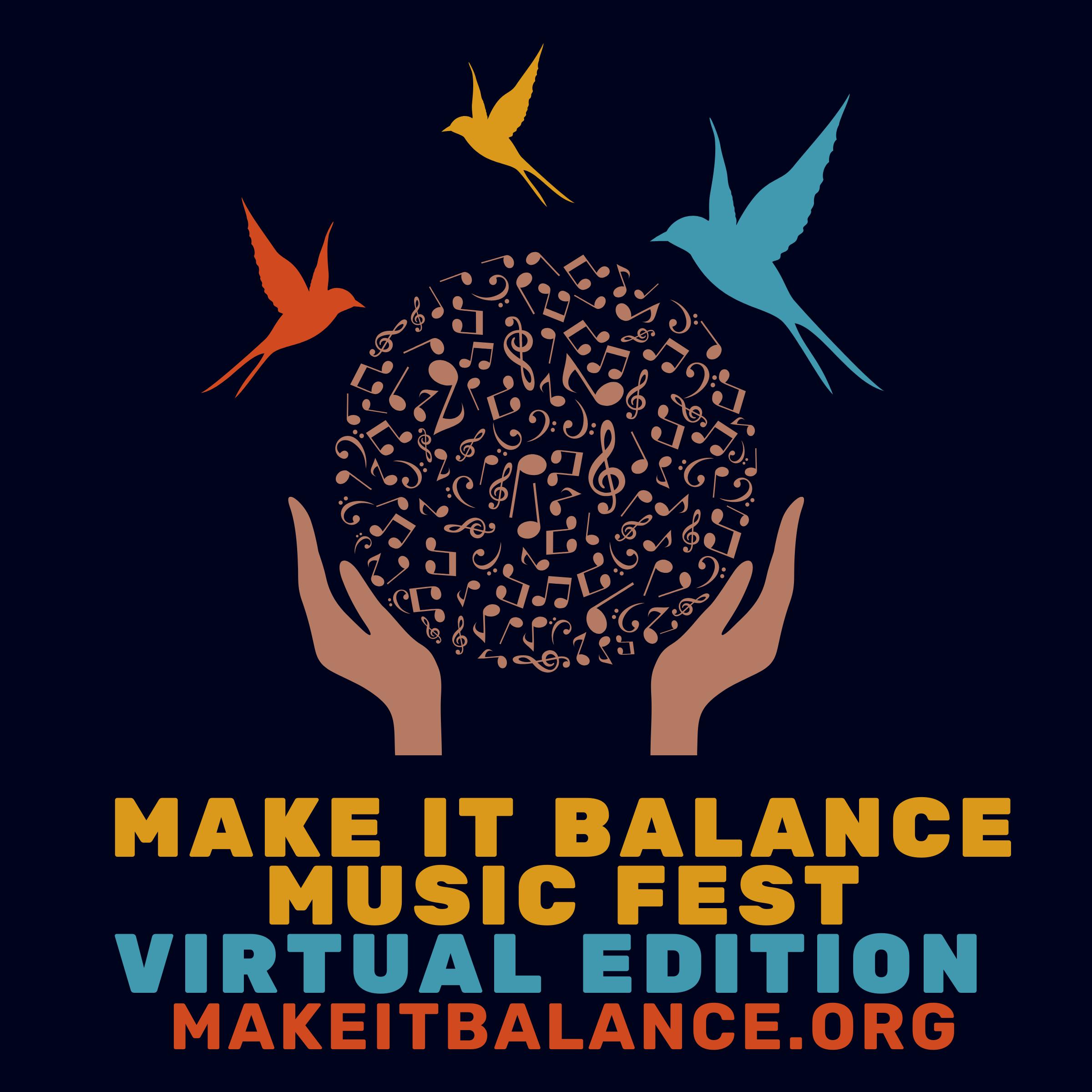 Make It Balance Music Fest Logo