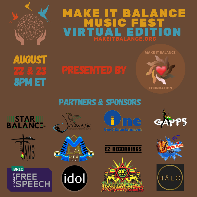 Two Date Wide Ad Make It Balance Music Fest Virtual Edition
