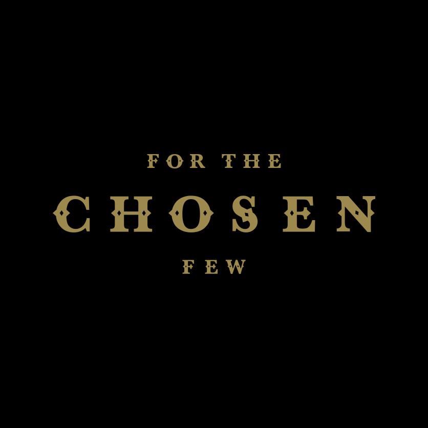 for the chosen few logo