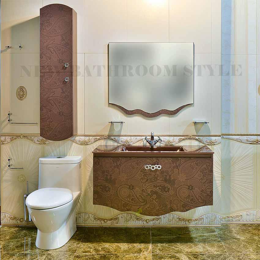 32 inch CHER Matt Brown Bathroom vanity