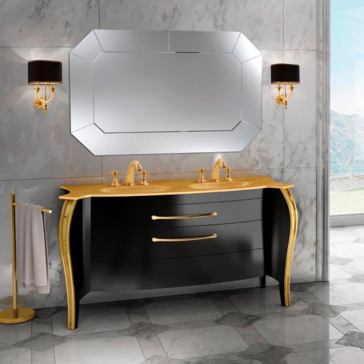 Modern bathroom vanity BELVEDERE 4 Mia Italia