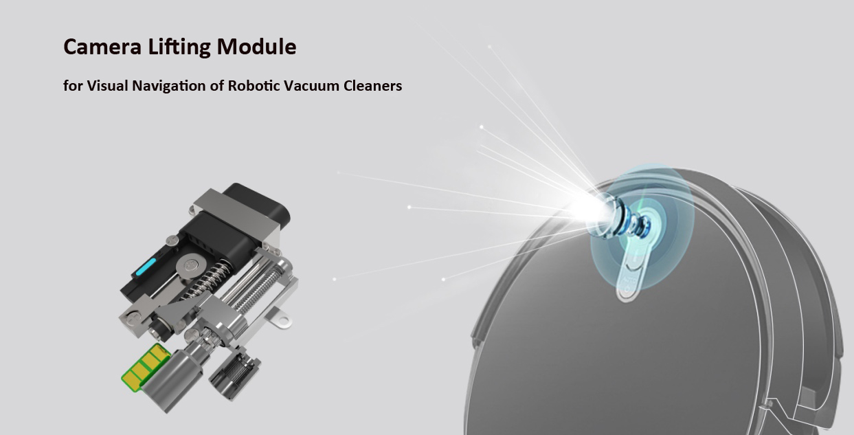 Camera Lifting Module for Visual Navigation of Robotic Vacuum Cleaners
