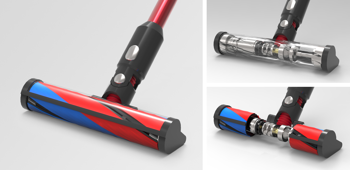 Micro Drive Solution for Cordless Handheld Vacuum Cleaners