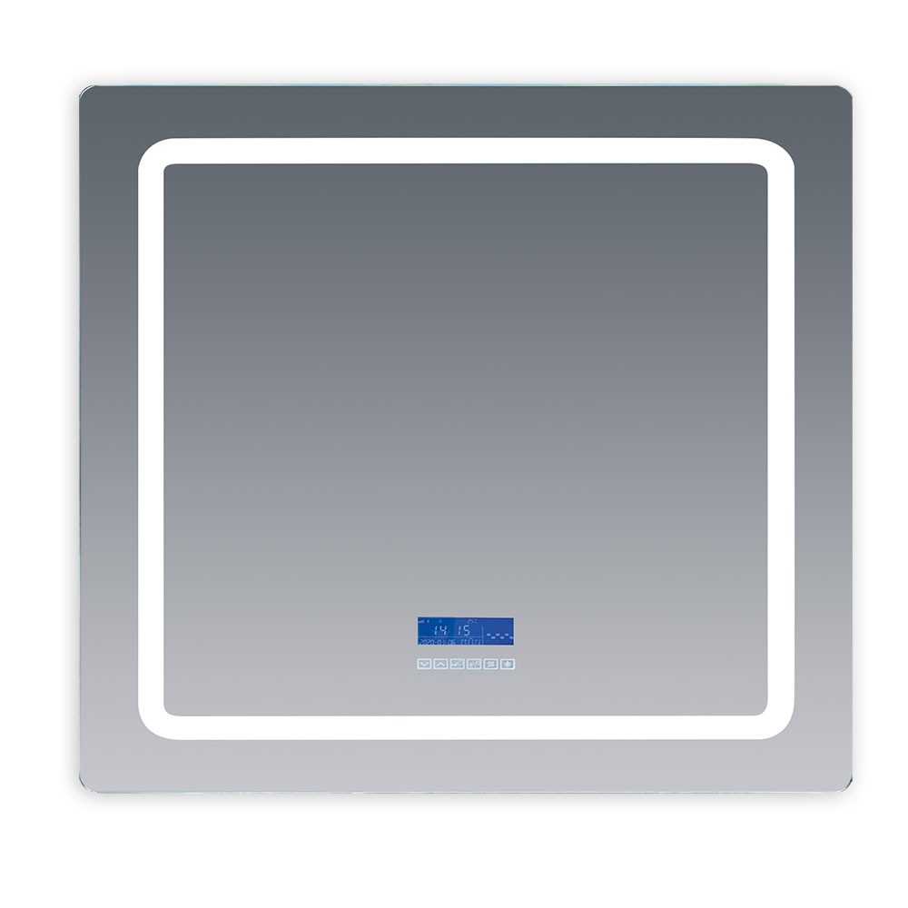 Lexora Caldona 36 x 32 Inch Led Mirror