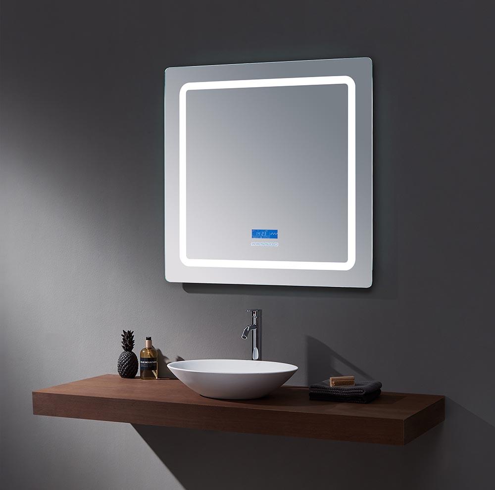 Lexora Caldona Led Mirror With Defogger And Bluetooth