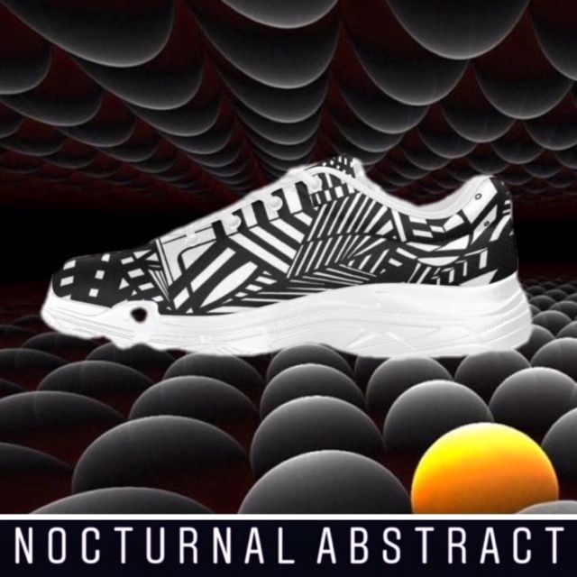 Nocturnal Abstract Sneaker