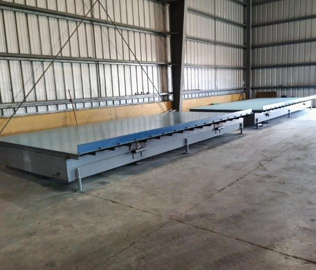 Wall Panel Forming Tables