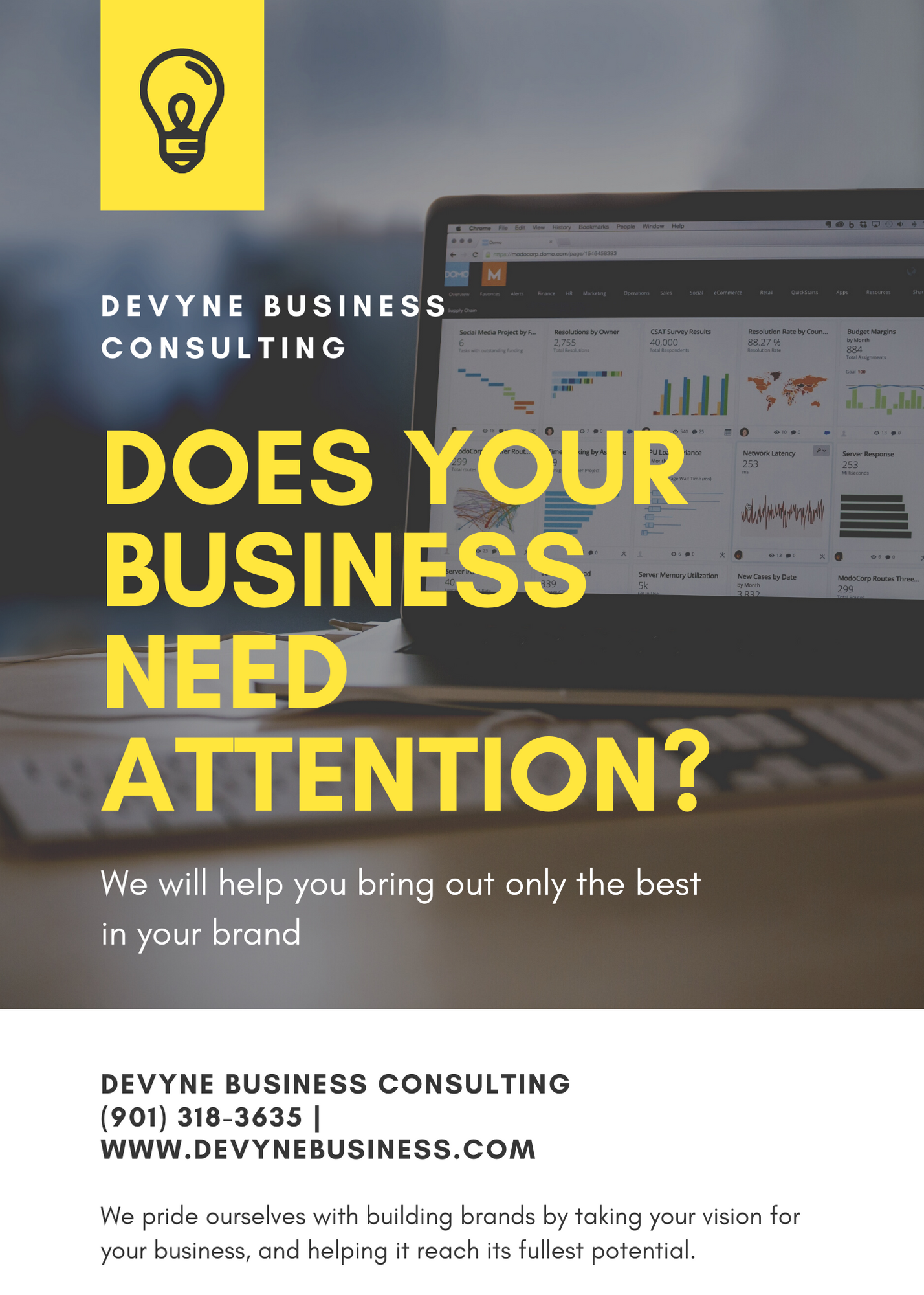 Does Your Business Need Attention