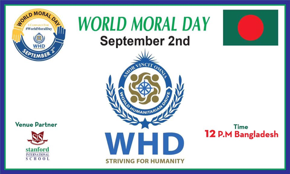 WHD Embracing World Moral Day Agenda