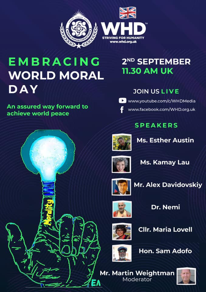 WHD Embracing World Moral Day