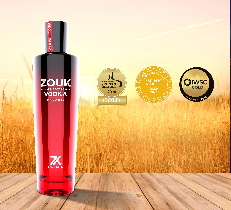ZOUK Organic Single Estate Vodka