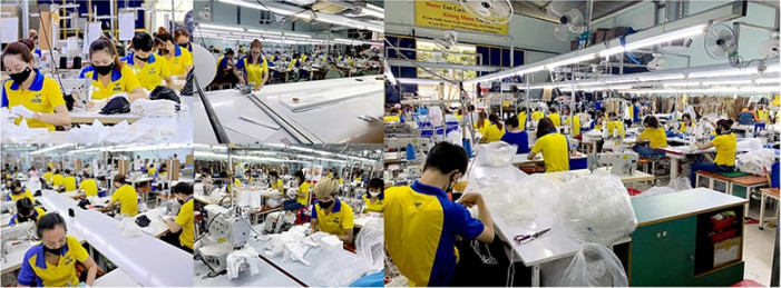 Vietnamese Manufacture Clothing  Custom Garment For SME Export