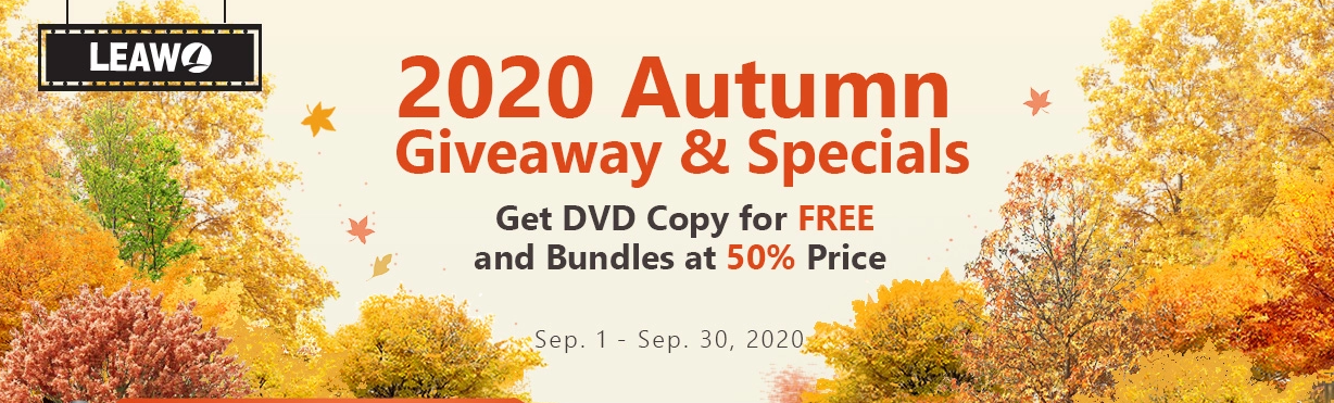 Leawo 2020 Autumn Sales Promotion