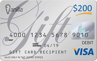 Virtual Visa Gift card
