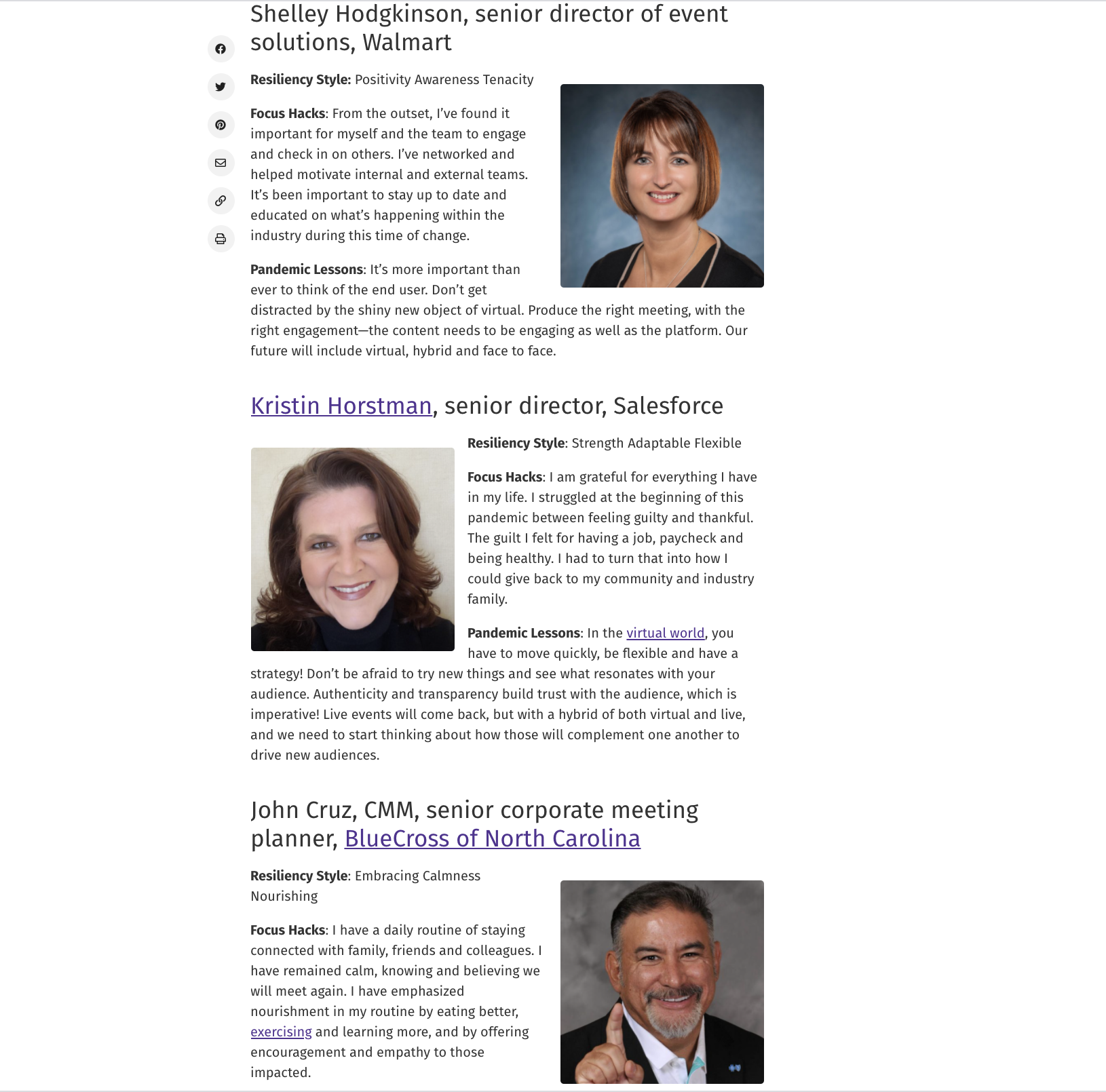 See the 2020 Planners of the Year at smartmeetingscom