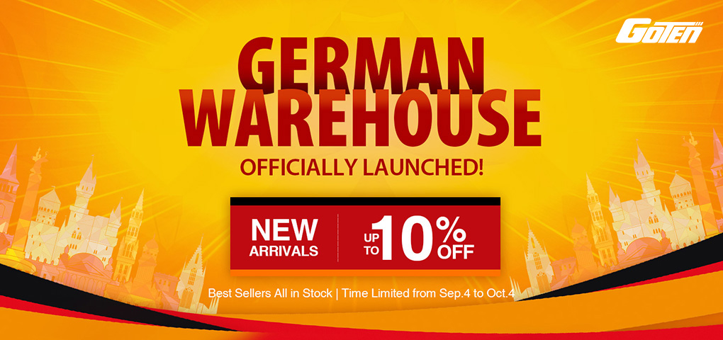 Pic 1 German Warehouse Officially Launched