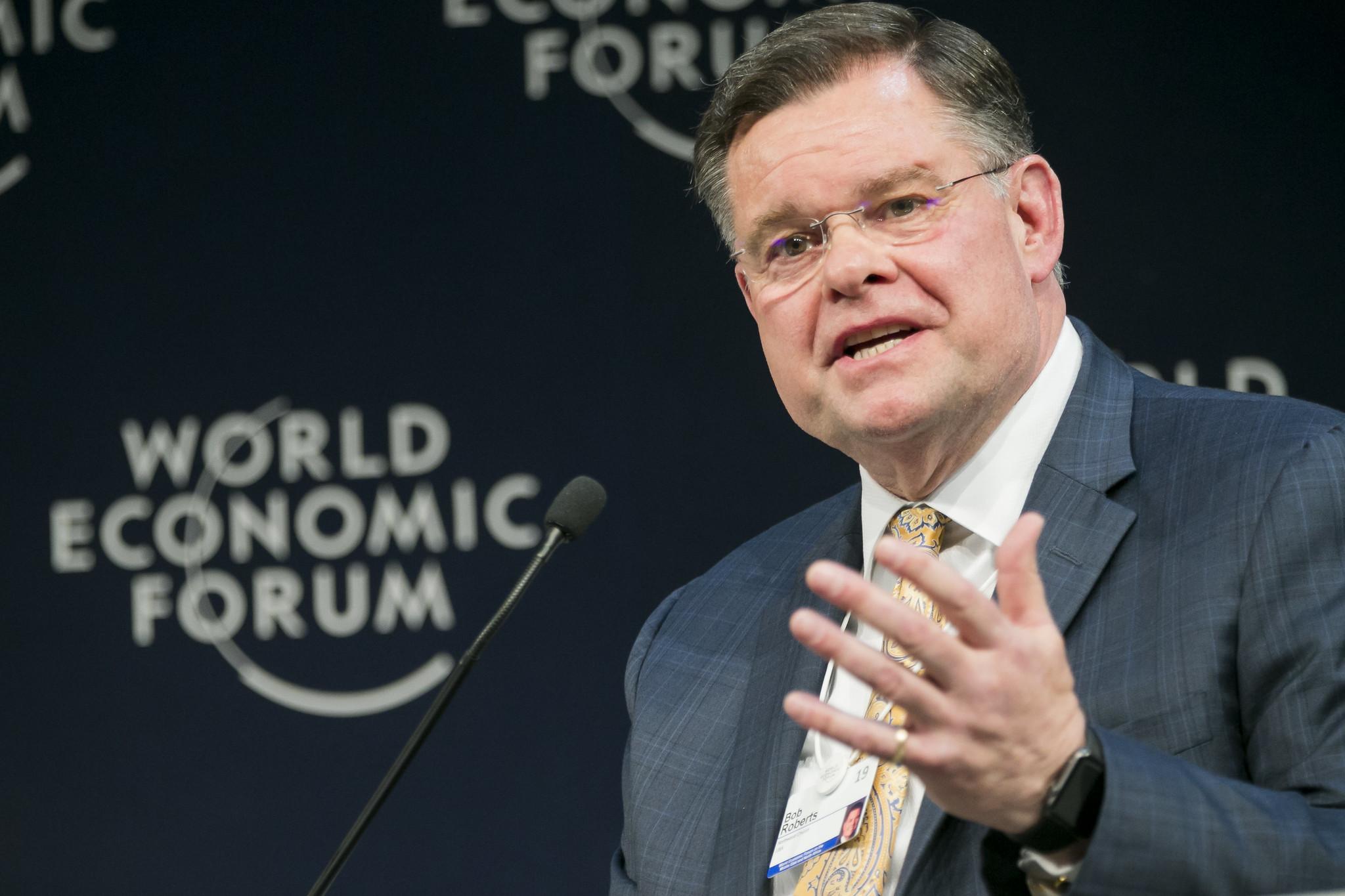 Bob Roberts Jr Speaking at the World Economic Forum