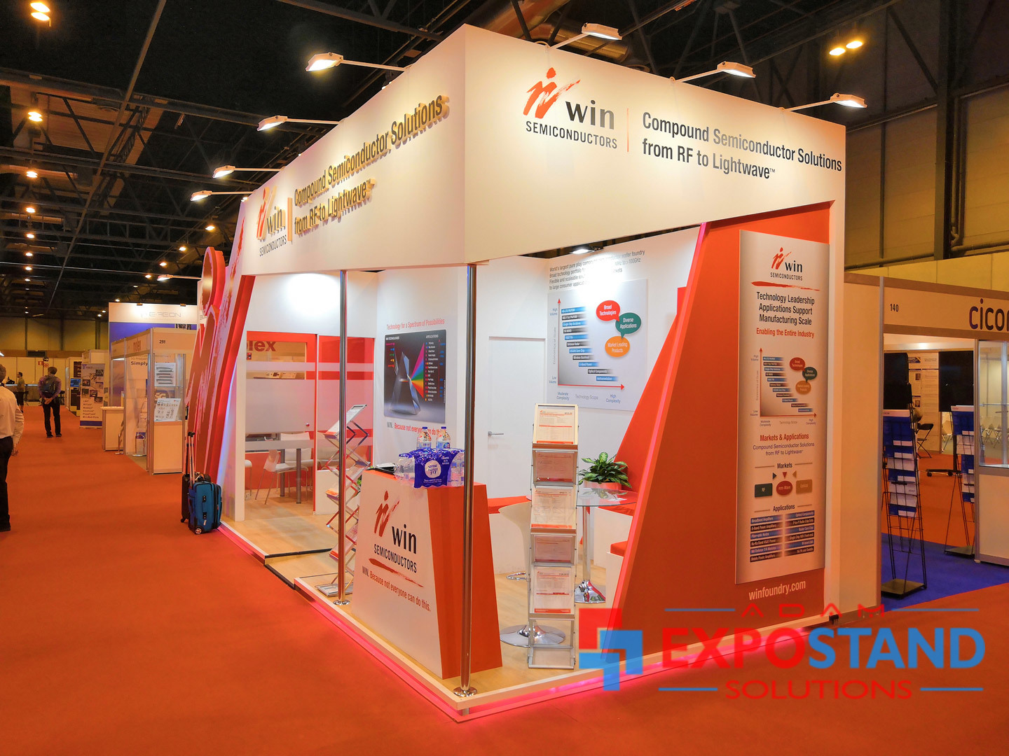 exhibition stand contractors Barcelona