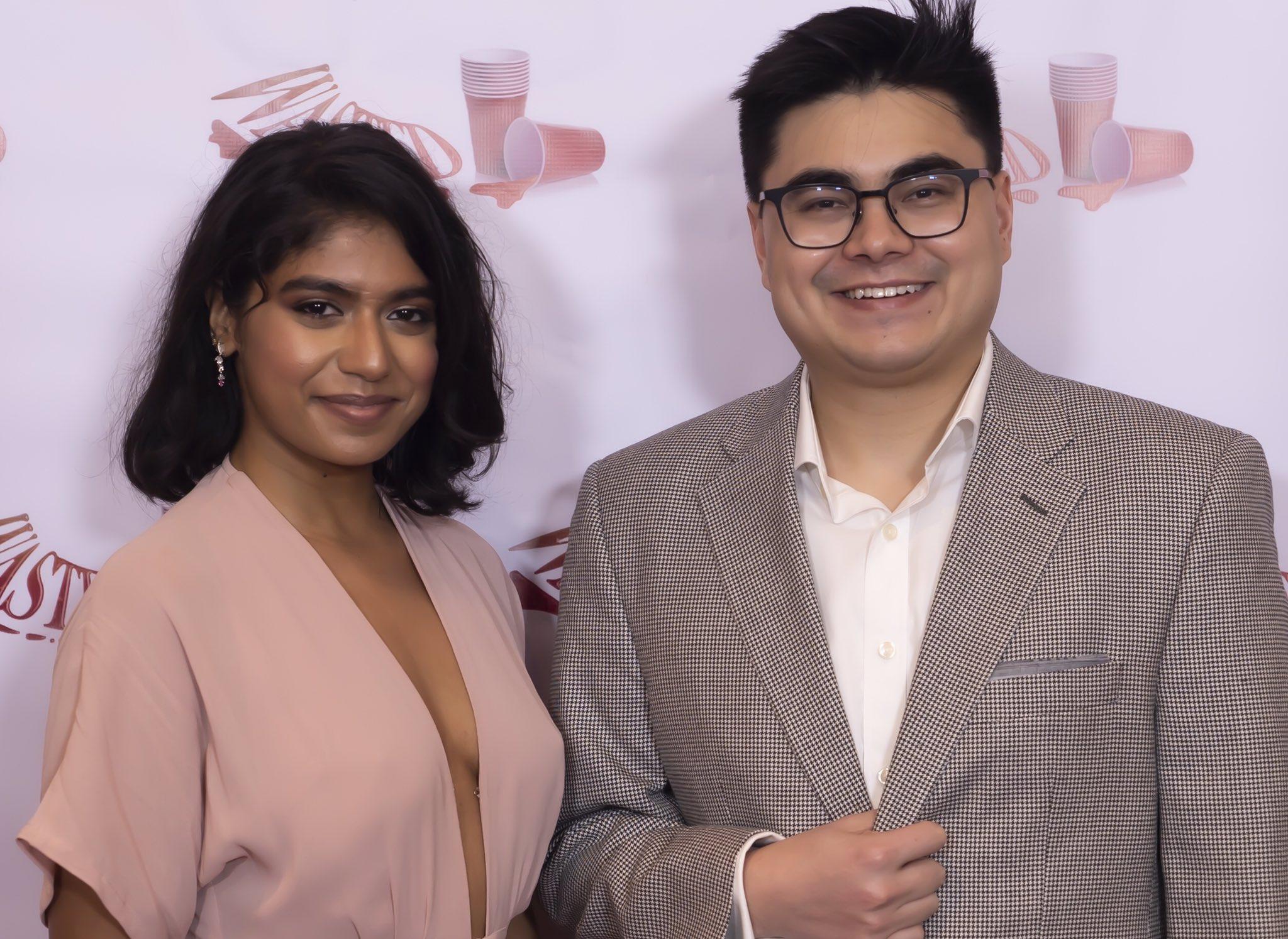 Plan B writing team Prathiksha Srinivasan LEFT and Joshua Levy RIGHT