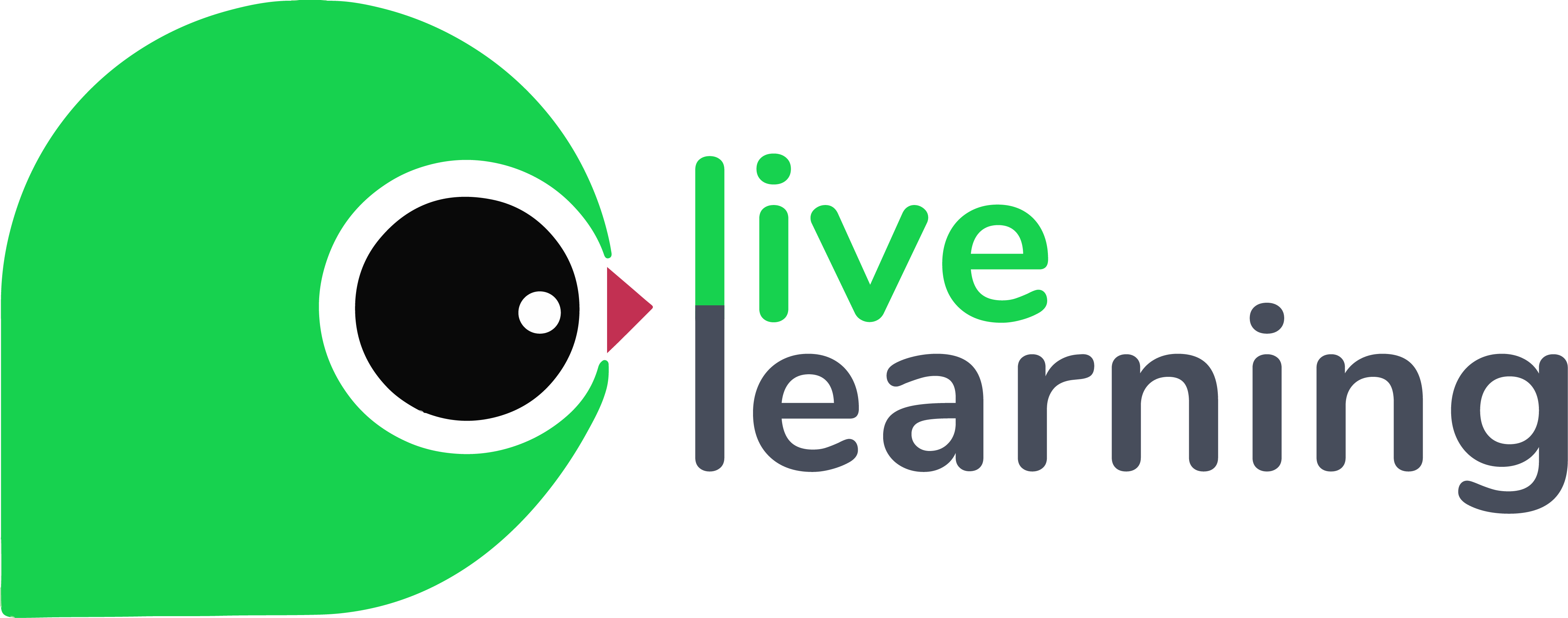 Live Learning Logo Text