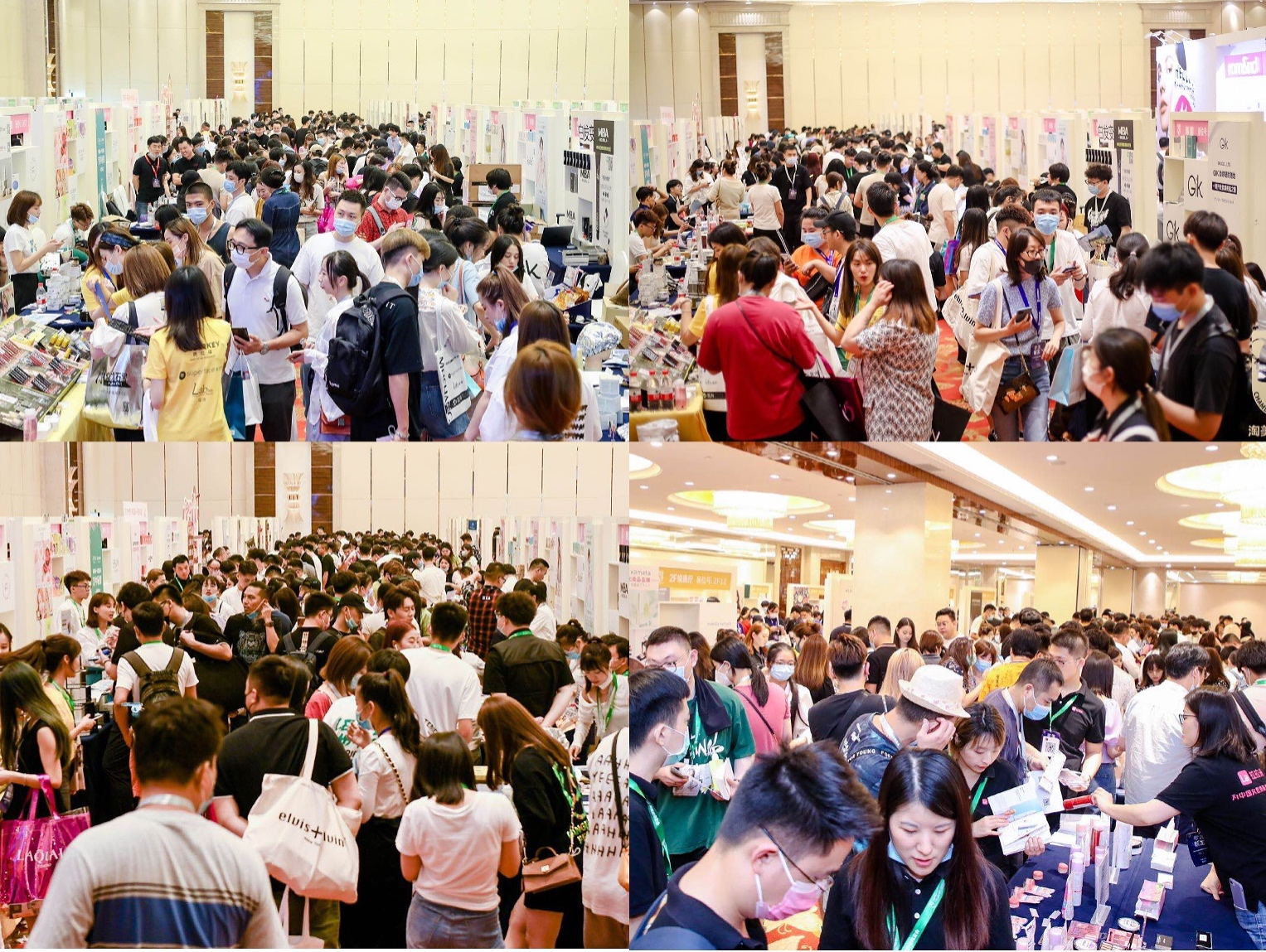 The spectacular TBCCCs brand fair with more than 1000 brands