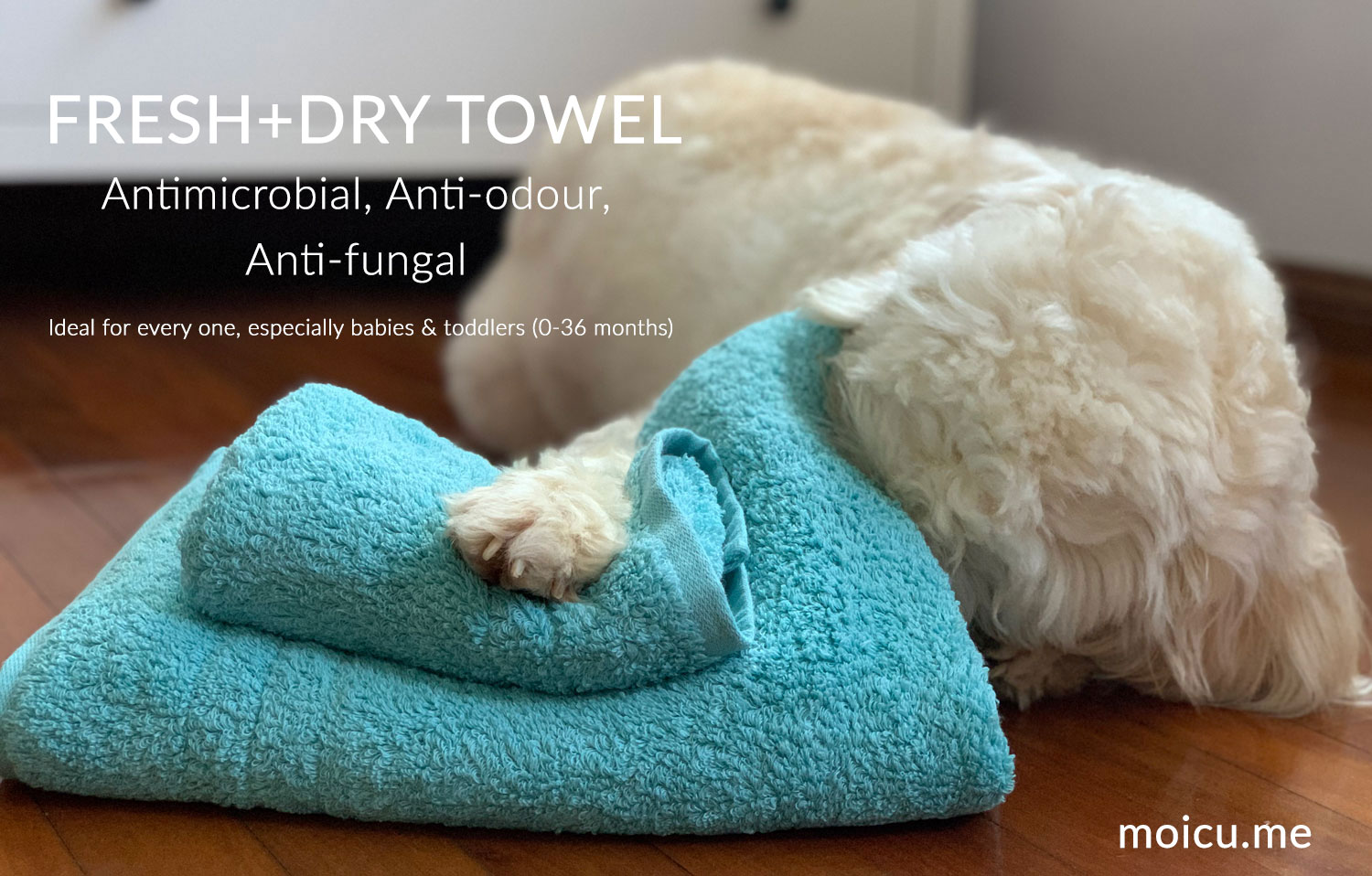 Towel is protected by Silver ions