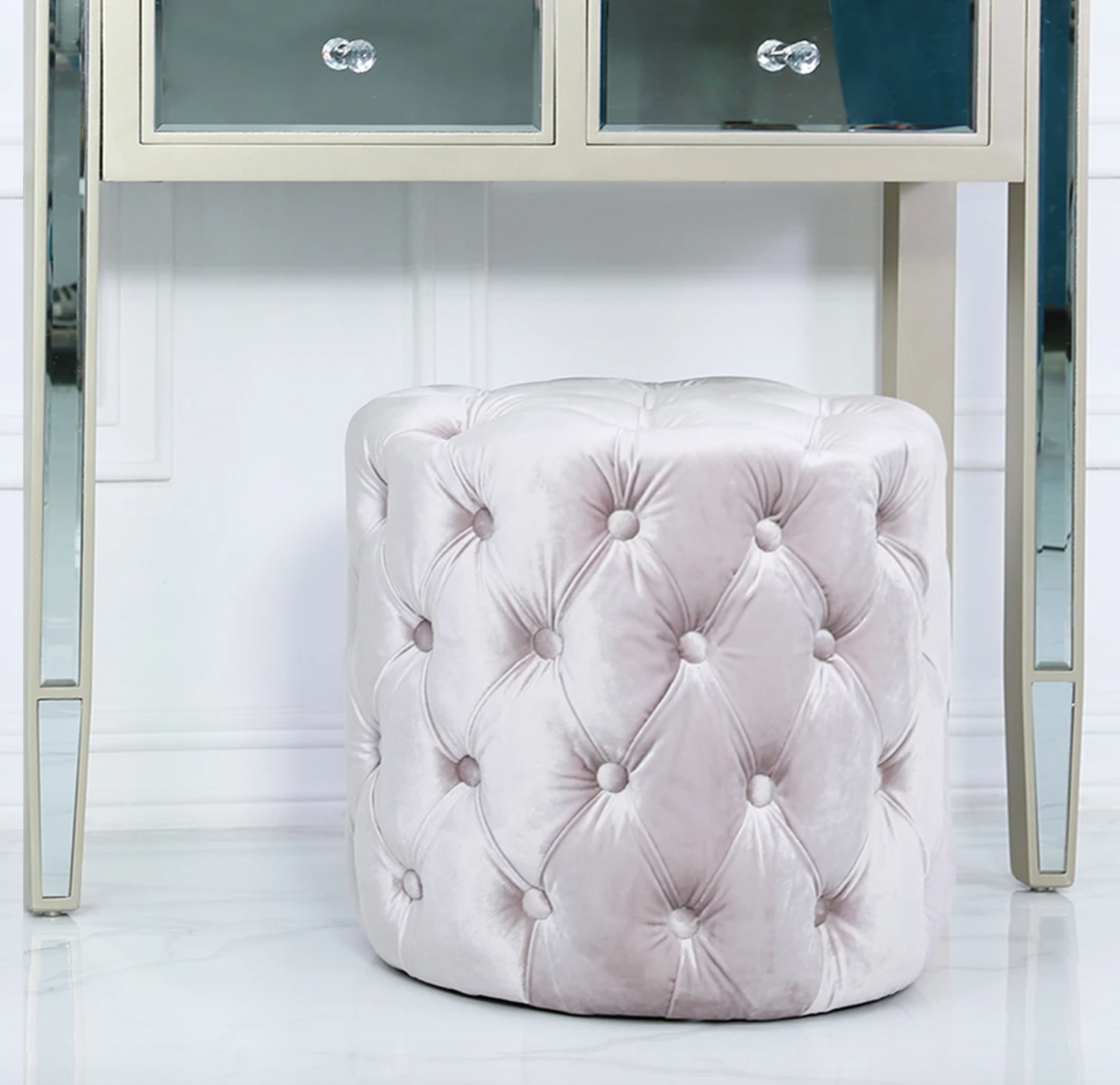 bedside table from vanity living
