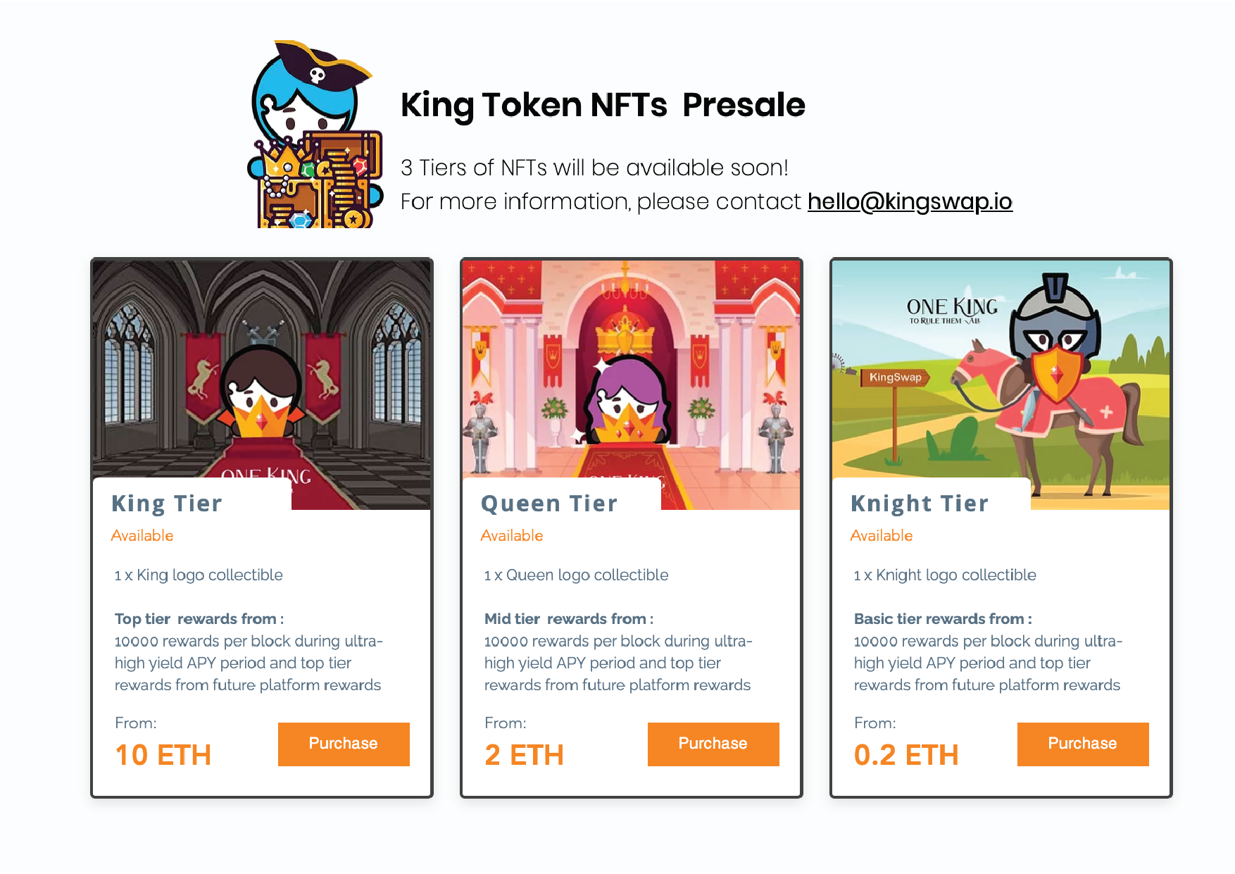 PreSale NFT Tokens