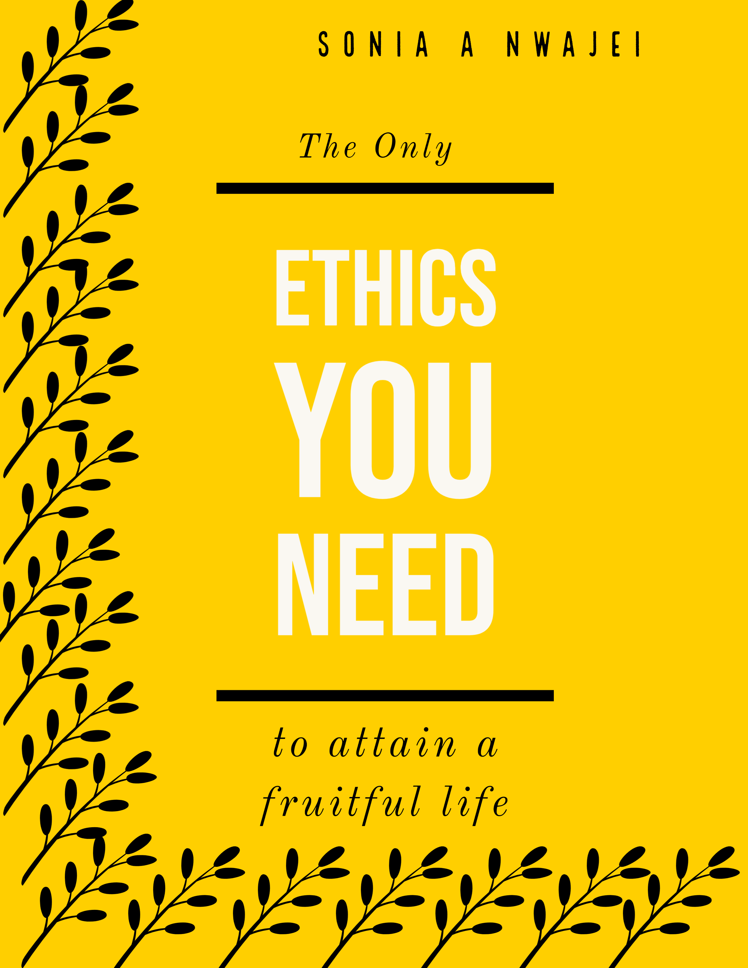 the only ethics you need book cover