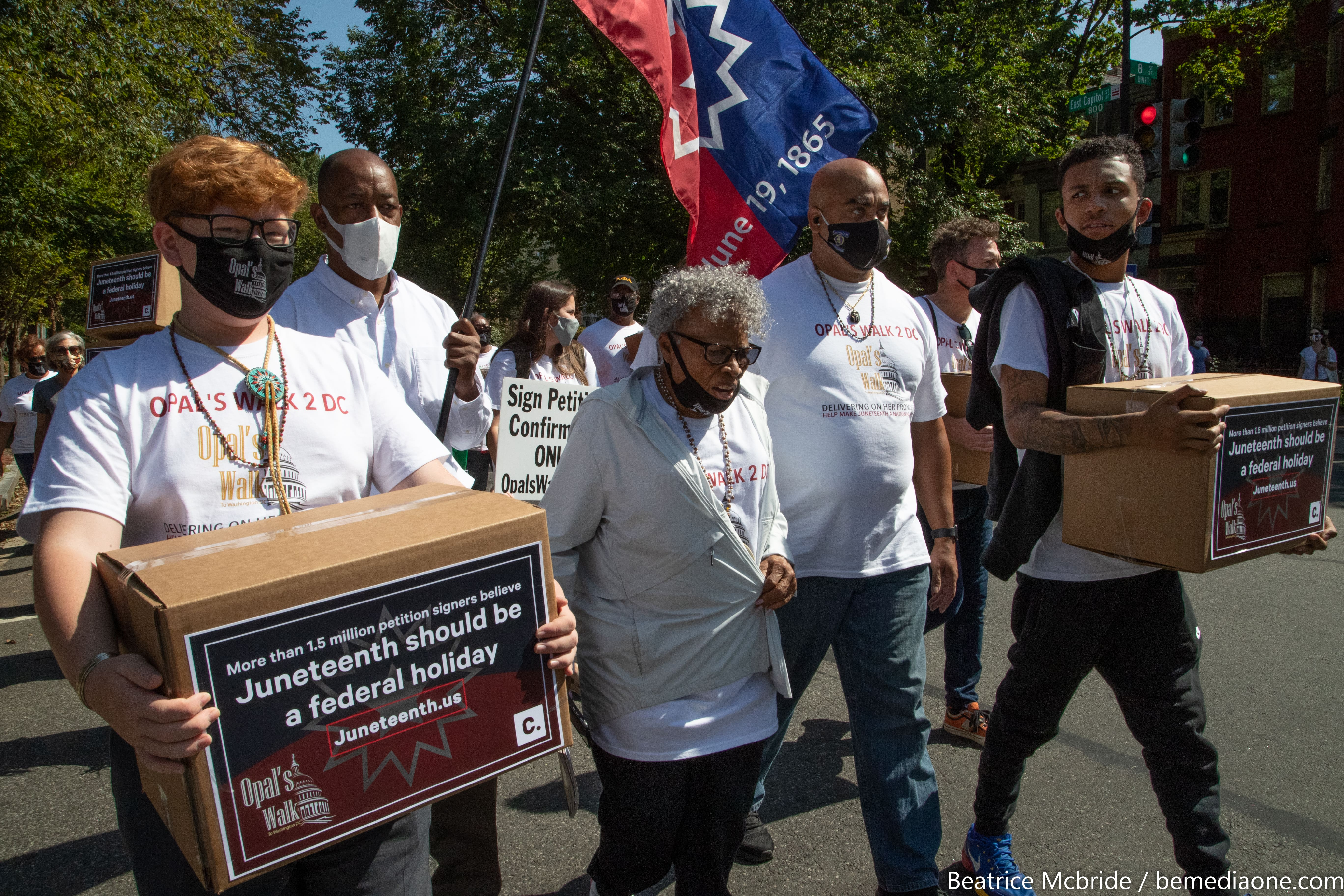 15 million petition delivery to Capitol Hill