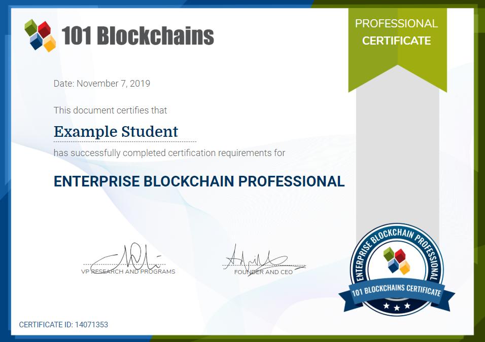 CEBP Certification
