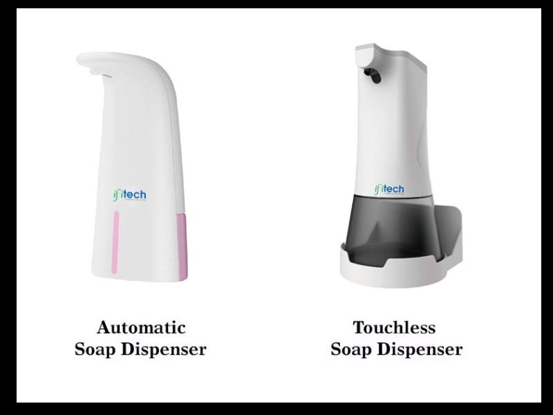 Soap And Sanitizer Dispenser