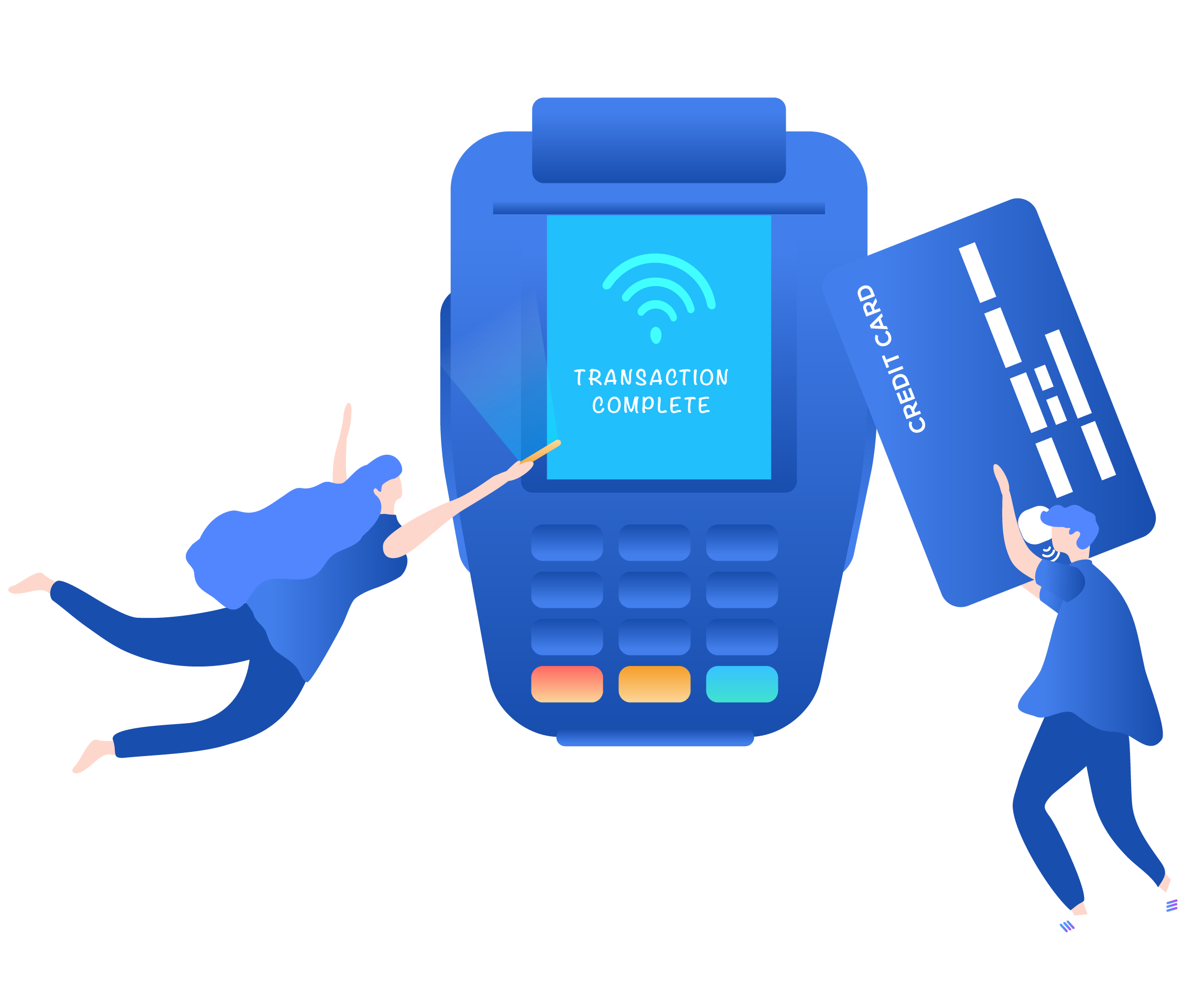 Fido card machine and online payments