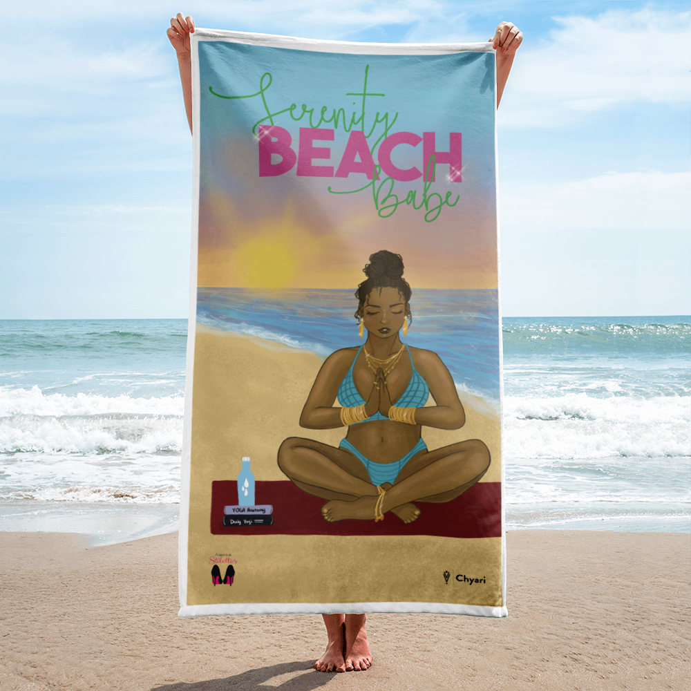 Serenity Beach Towel