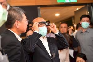 Taiwan Premier SU Praise JORJIN Chairnan Tom