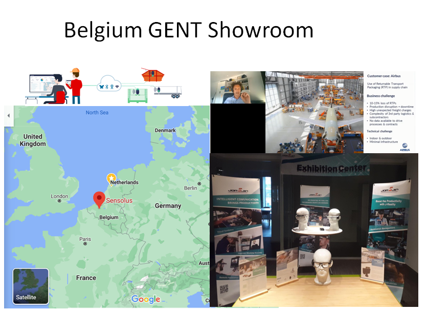 Gent showroom