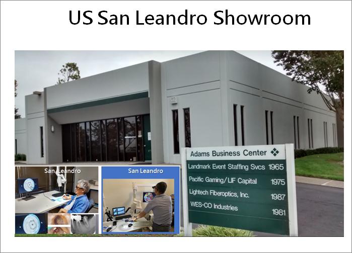 Showroom US San Leandro