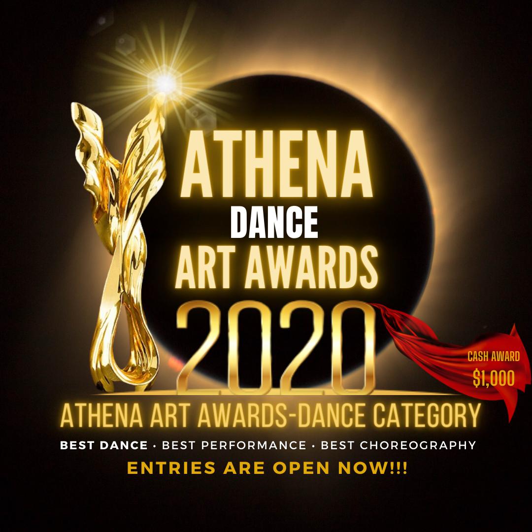 Flyer Athena Art Awards Dance