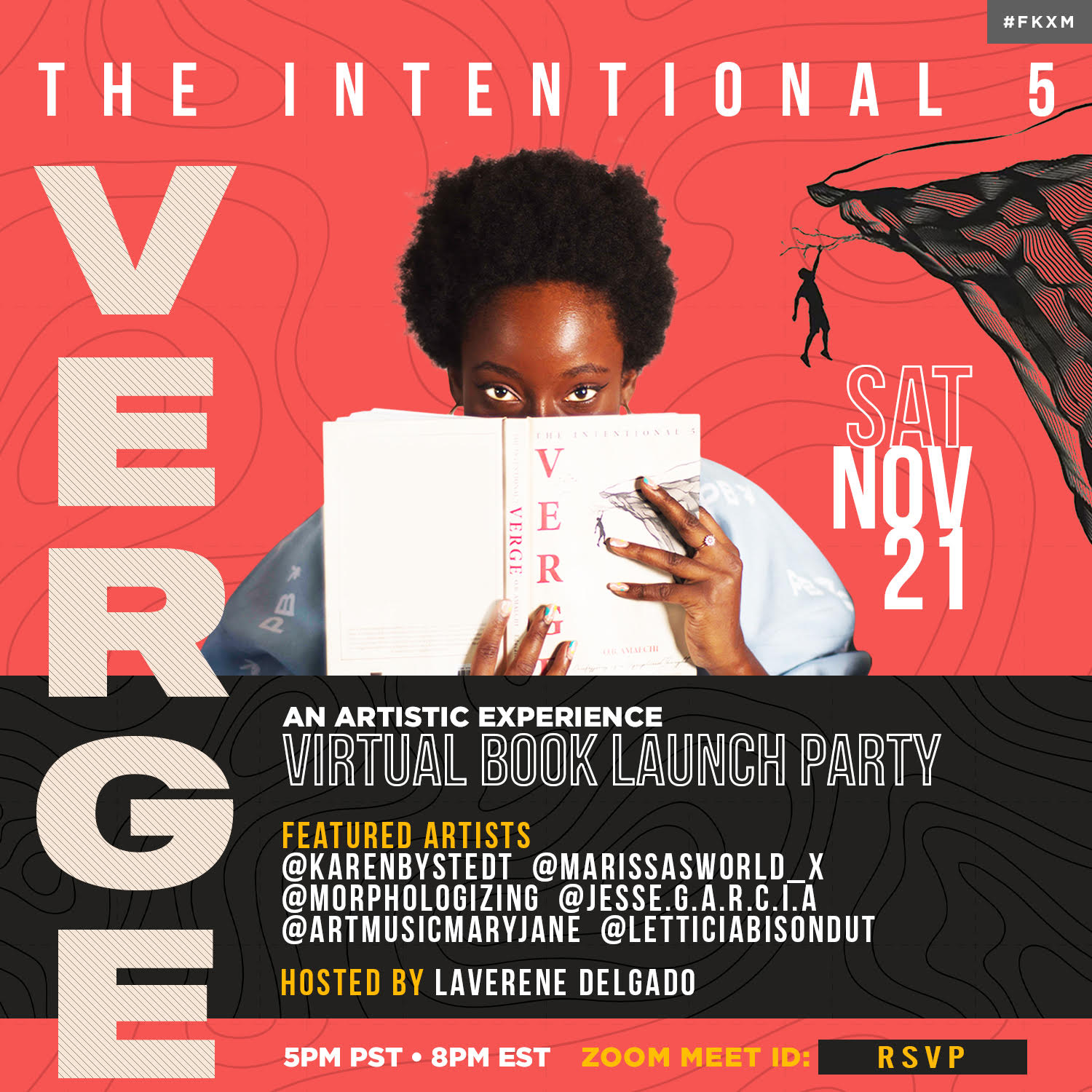 The Verge Virtual Book Launch And Art Experience