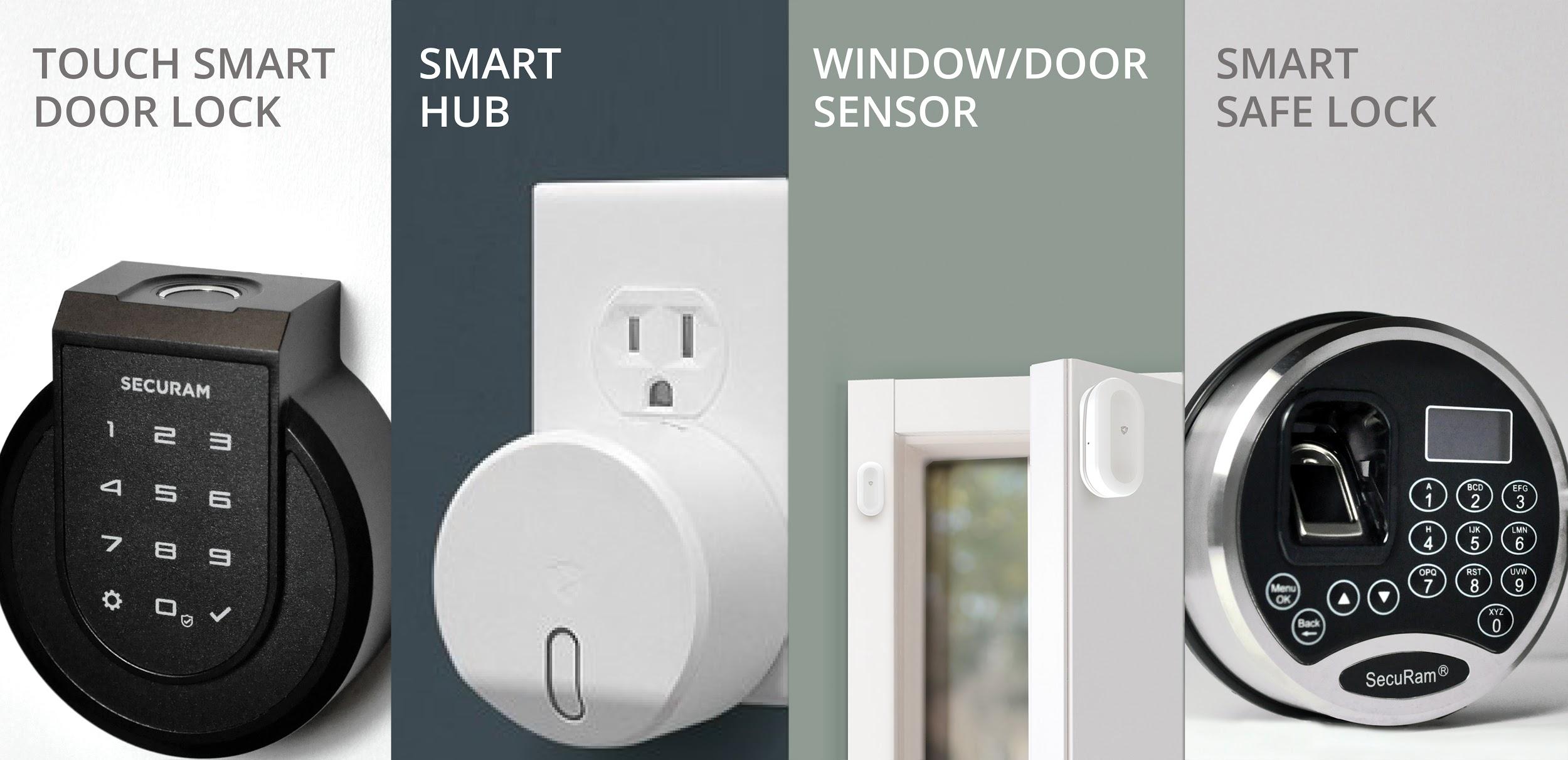 SECURAMs Comprehensive Smart Home Security Suite