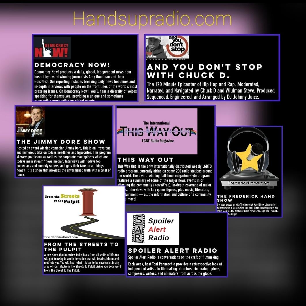 Hands Up Radio Shows