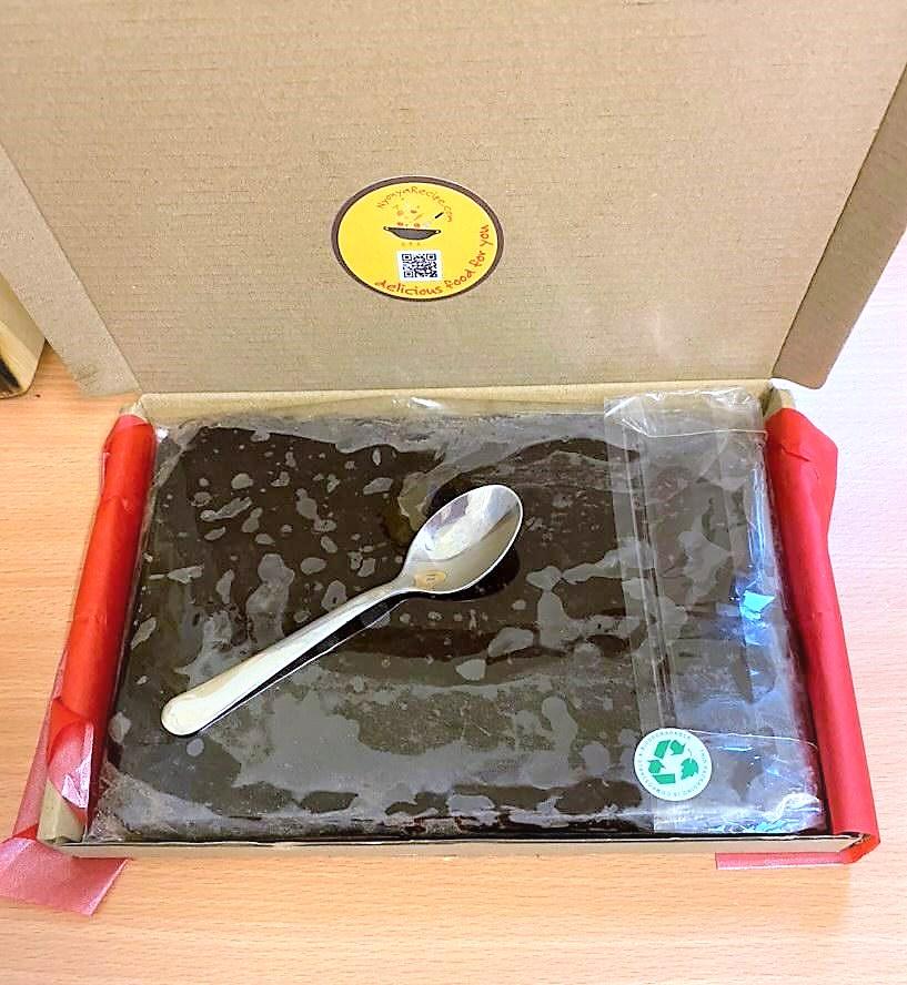 Postal Box choc cake Karen