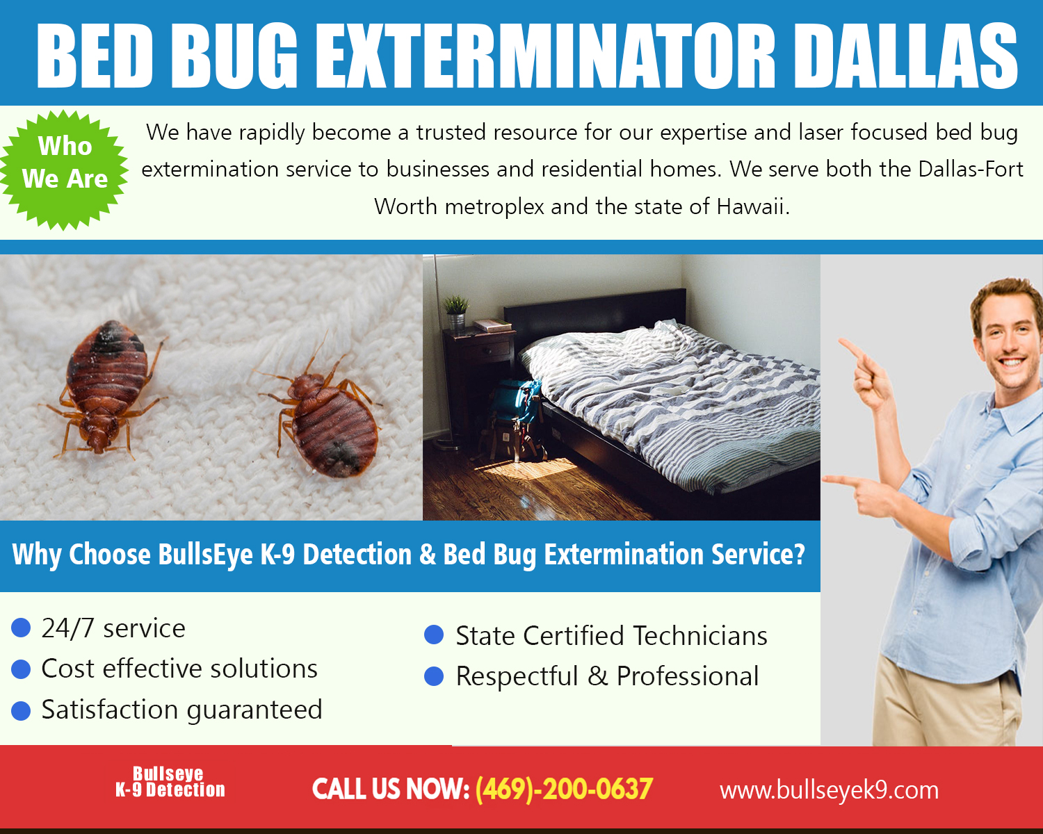 Bed Bug Exterminator Dallas Identify And Eliminate Those Pests