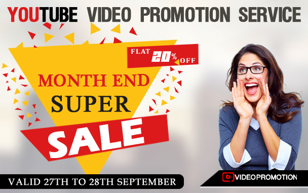 Video Promotion Club is Back with Month-End Super Sale Offer for