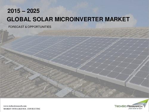 solar microinverter market size share forecast techsci research