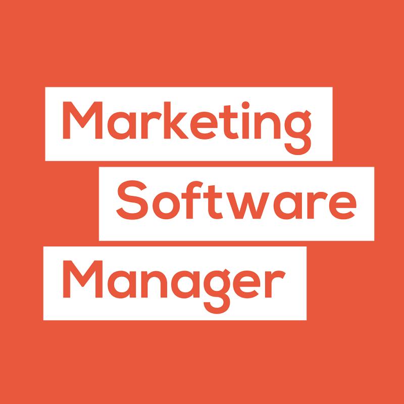 Marketing Software Manager Orange Logo