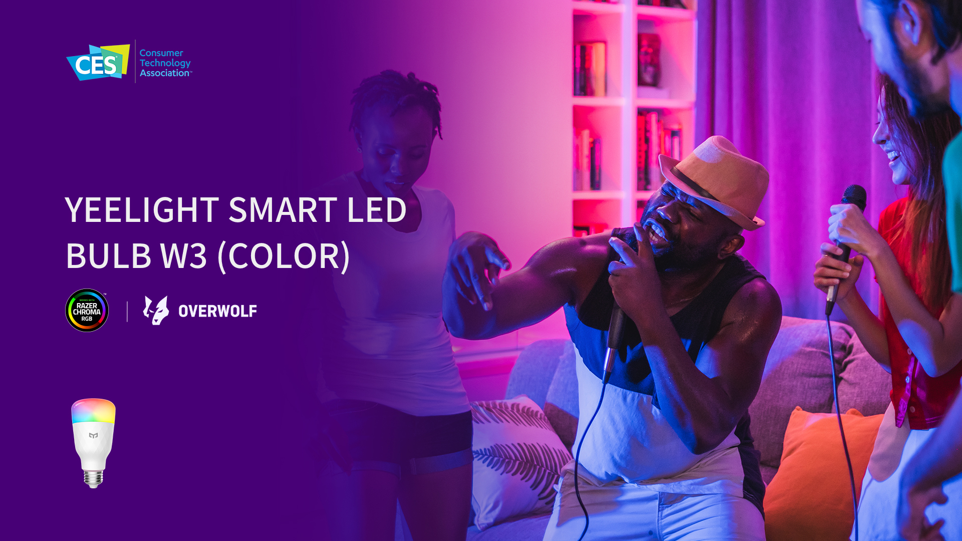 Yeelight Smart LED Bulb W3 Color
