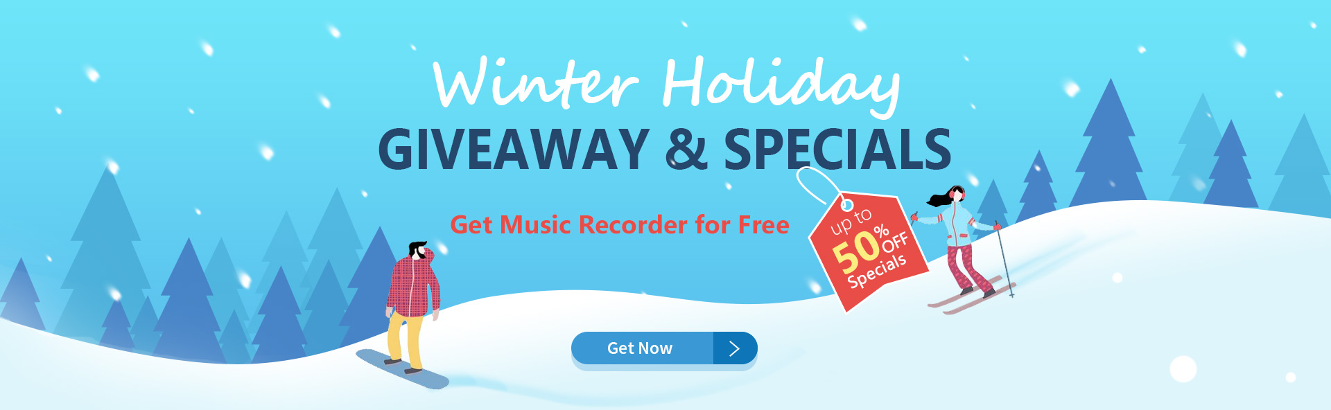 banner winter holiday