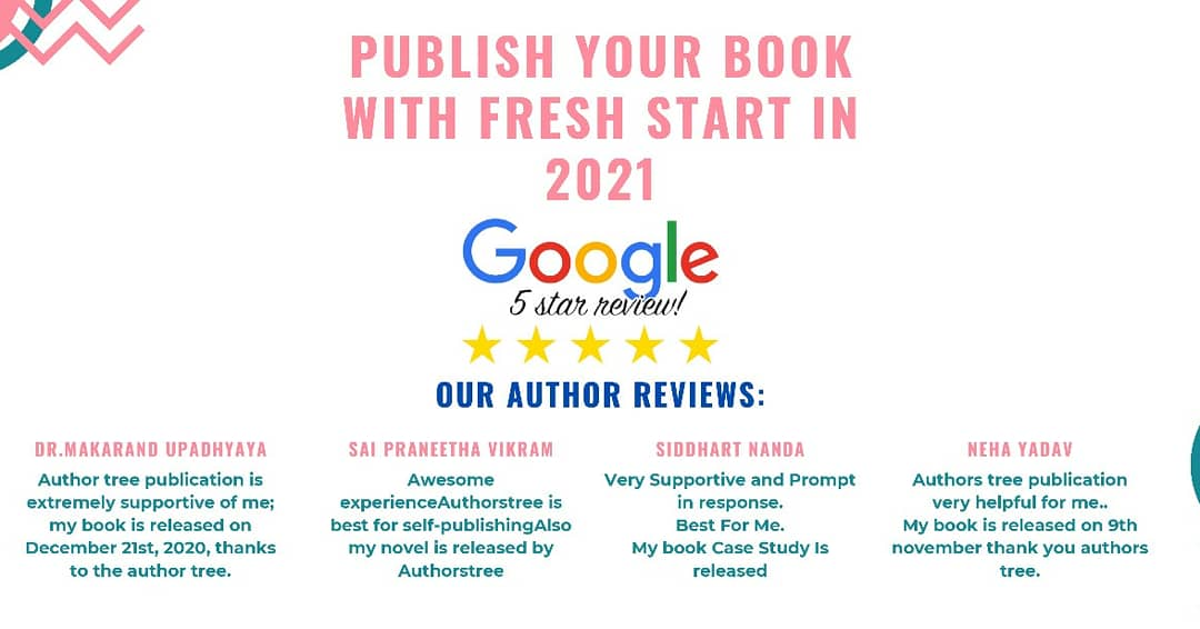 Authors Tree Publishing google review