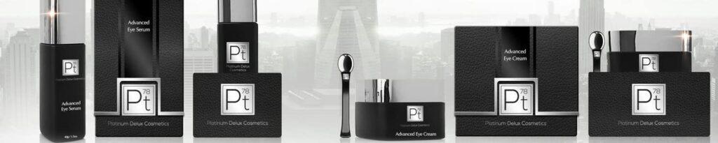 Platinum Deluxe cosmetics introduces the Platinum Collection